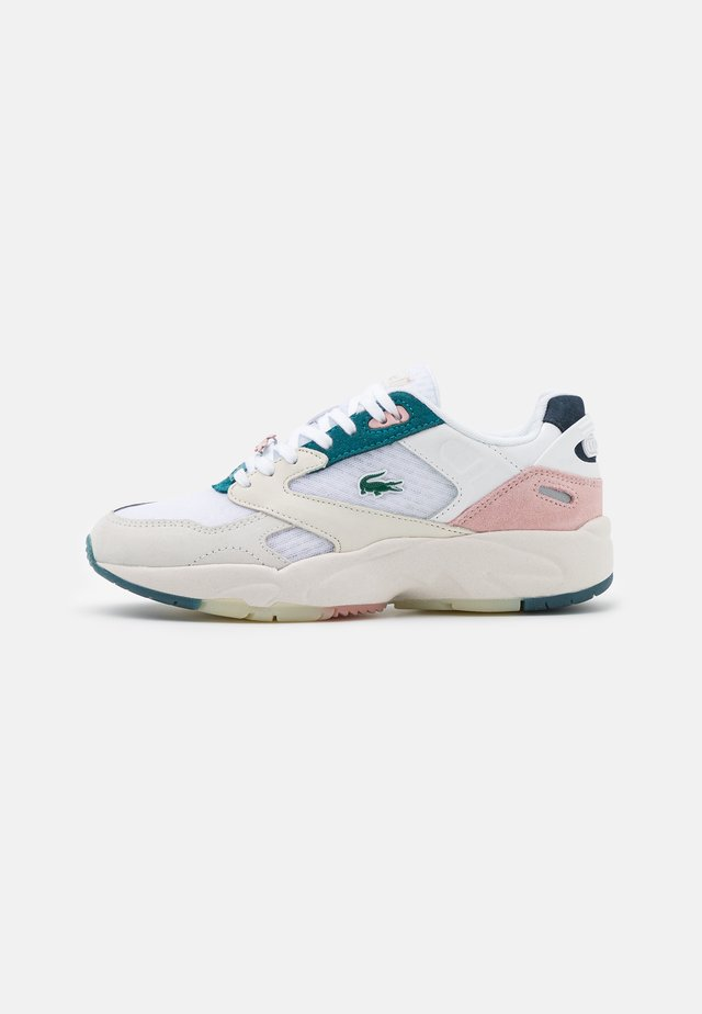STORM - Sneakers basse - white/light pink