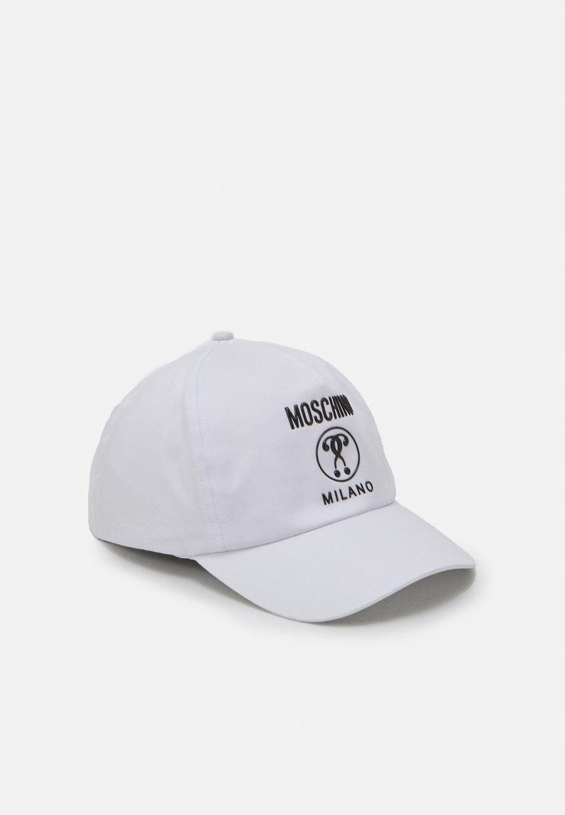 MOSCHINO - HAT UNISEX - Kšiltovka - optic white