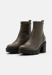 Anna Field - Platform ankle boots - khaki - 2