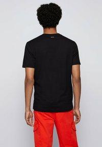 BOSS - TDRAW - Print T-shirt - black - 2