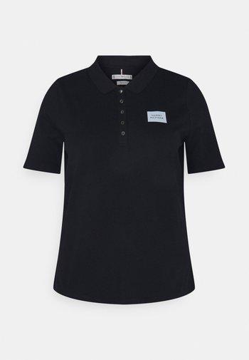 SHORT SLEEVE SLIM BOX - Polo shirt - desert sky