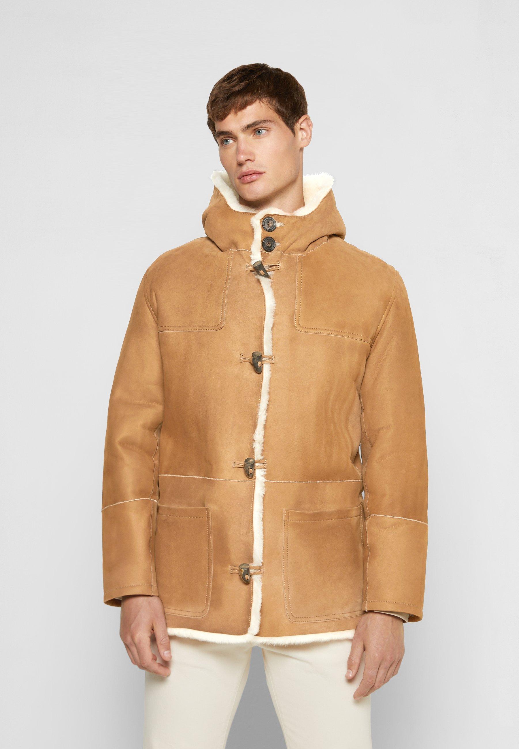 Men DUFFLE COAT JANIS - Leather jacket