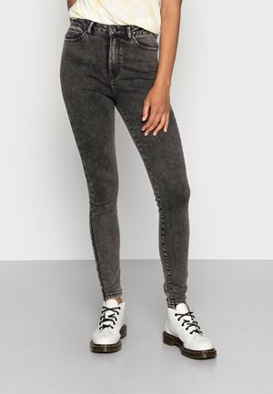 ONLKEILY SKINNY  - Jeans Skinny Fit - black