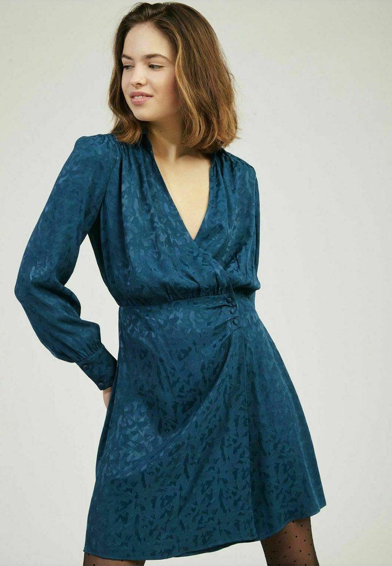 NAF NAF - Shirt dress - blue
