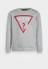Guess - JUNIOR CORE - Sweatshirt - light heather grey - 0