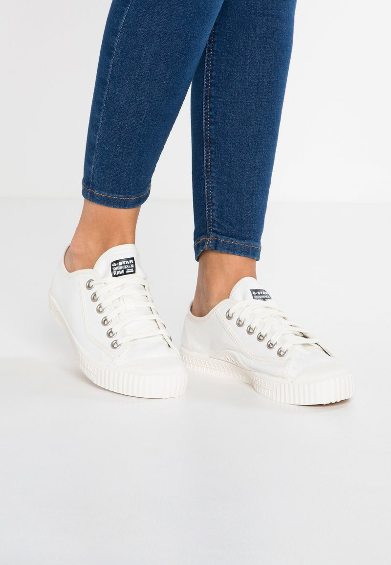 G-Star - ROVULC - Sneakersy niskie - white