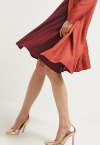 Anna Field - A-line skirt - burgundy - 3