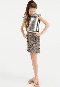 WE Fashion - MET DESSIN - Jersey dress - multi-coloured - 0