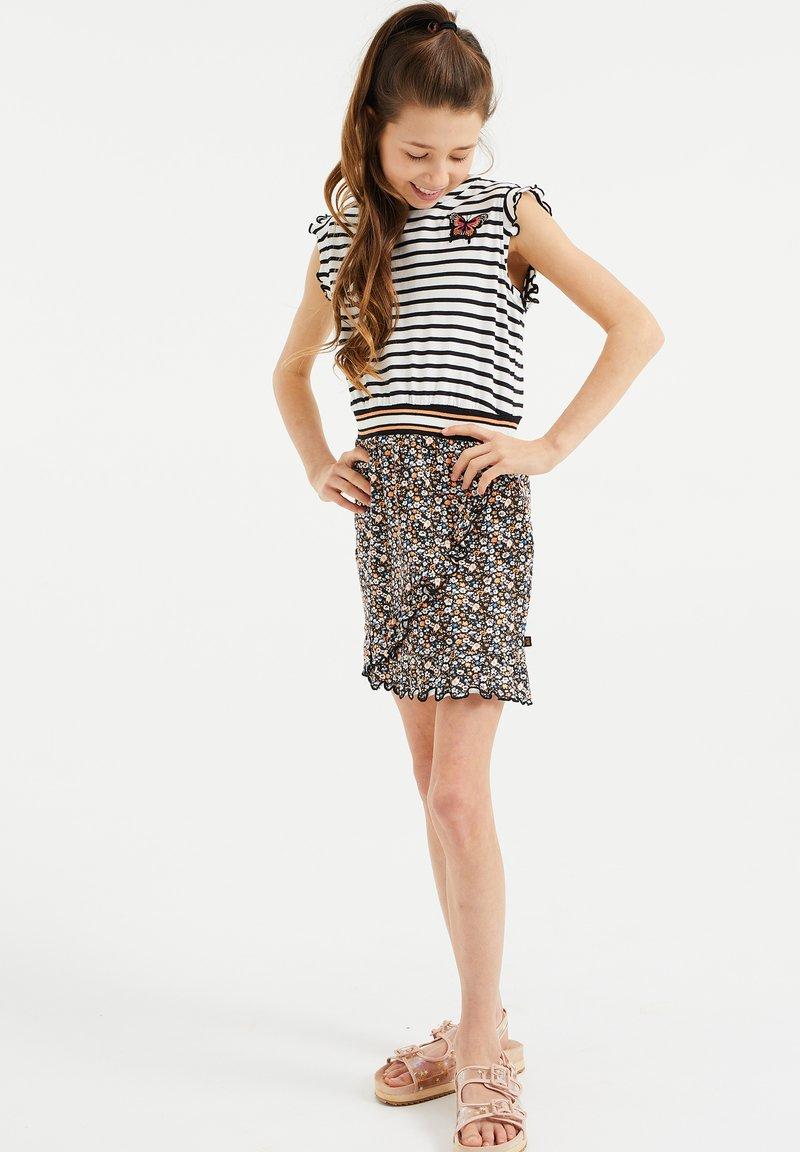 WE Fashion - MET DESSIN - Jersey dress - multi-coloured