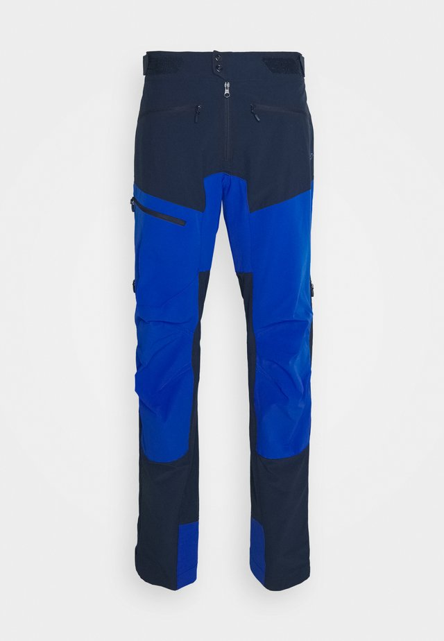 FJØRÅ FLEX1 PANTS  - Friluftsbyxor - indigo night/olympian blue