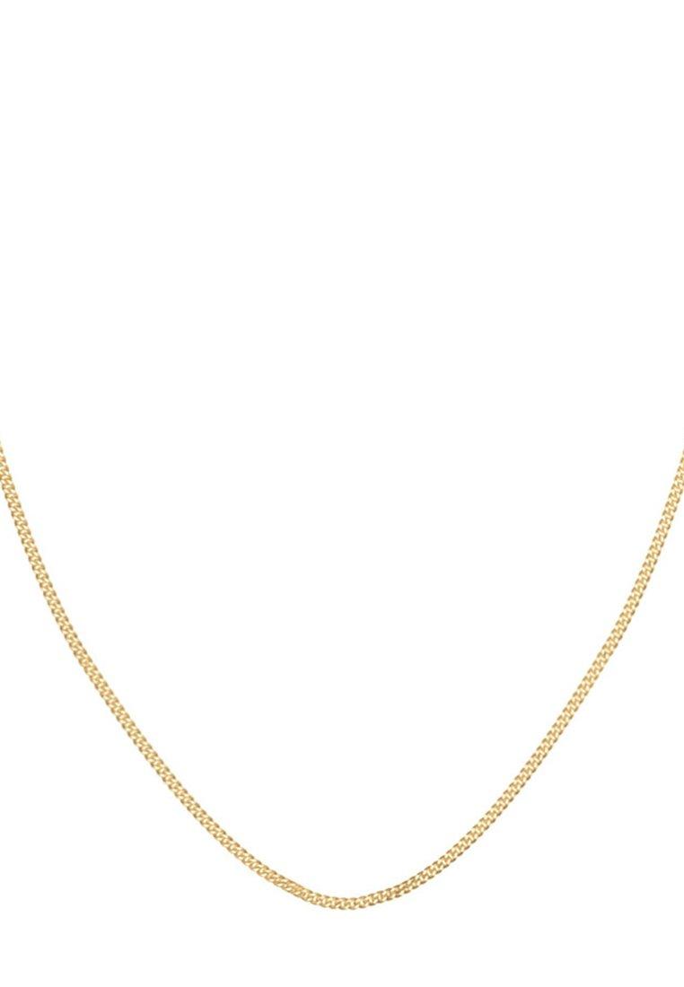 Elli Panzerkette Massiv Basic Kombinierbar  Halskette goldcoloured/gold