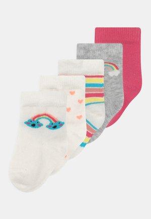 NBFKASI 5 PACK - Socks - snow white
