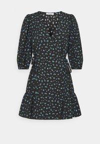 EDITED - GEMMA DRESS - Vestido informal - schwarz/blau/mischfarben - 3