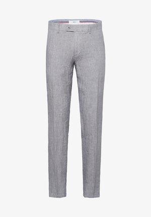 STYLE EVANS - Pantalon classique - platin