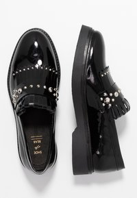 Shoe The Bear - BILLIE FRINGES - Slip-ons - black - 3