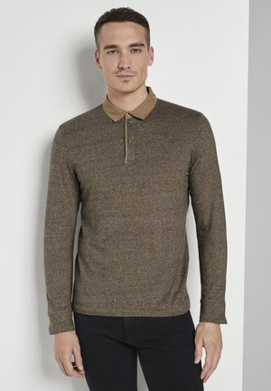 Polo shirt - faded leather brown