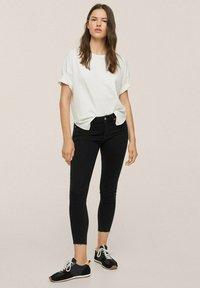 Mango - Jeans Skinny Fit - black denim - 1