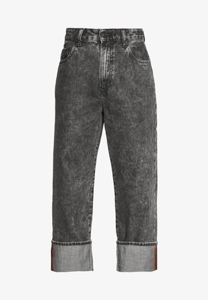 D-REGGY - Relaxed fit jeans - black