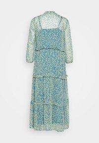 YAS - YASCLARIS LONG SUMMER DRESS  - Maxi dress - blue heaven/claris - 1