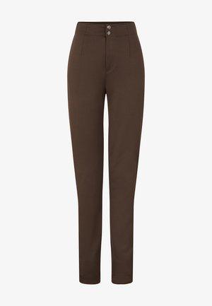 Leggings - Trousers - oliv-grün/schwarz