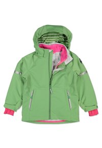 Polarn O. Pyret - Waterproof jacket - green - 3