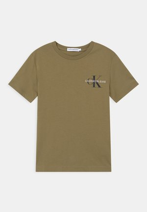 CHEST MONOGRAM UNISEX - Triko s potiskem - green