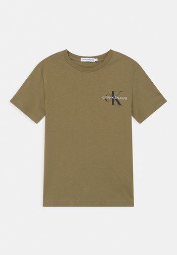 CHEST MONOGRAM UNISEX - Print T-shirt - green