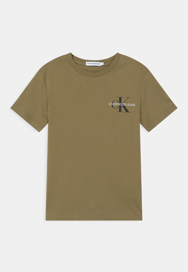 CHEST MONOGRAM UNISEX - T-shirt print - green
