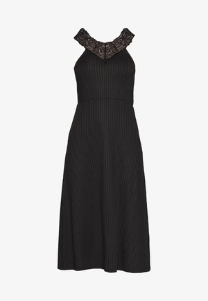 YASBLACE MIDI DRESS - Sukienka z dżerseju - black