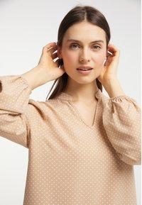 usha - Day dress - beige - 2