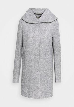 ONLSEDONA LIGHT COAT - Short coat - light grey