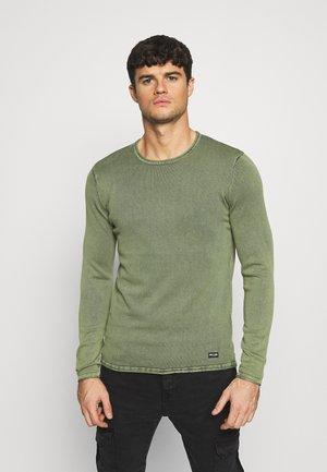 ONSGARSON LIFE WASH CREW - Stickad tröja - scarab