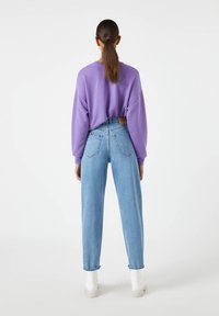PULL&BEAR - Relaxed fit jeans - light blue - 2