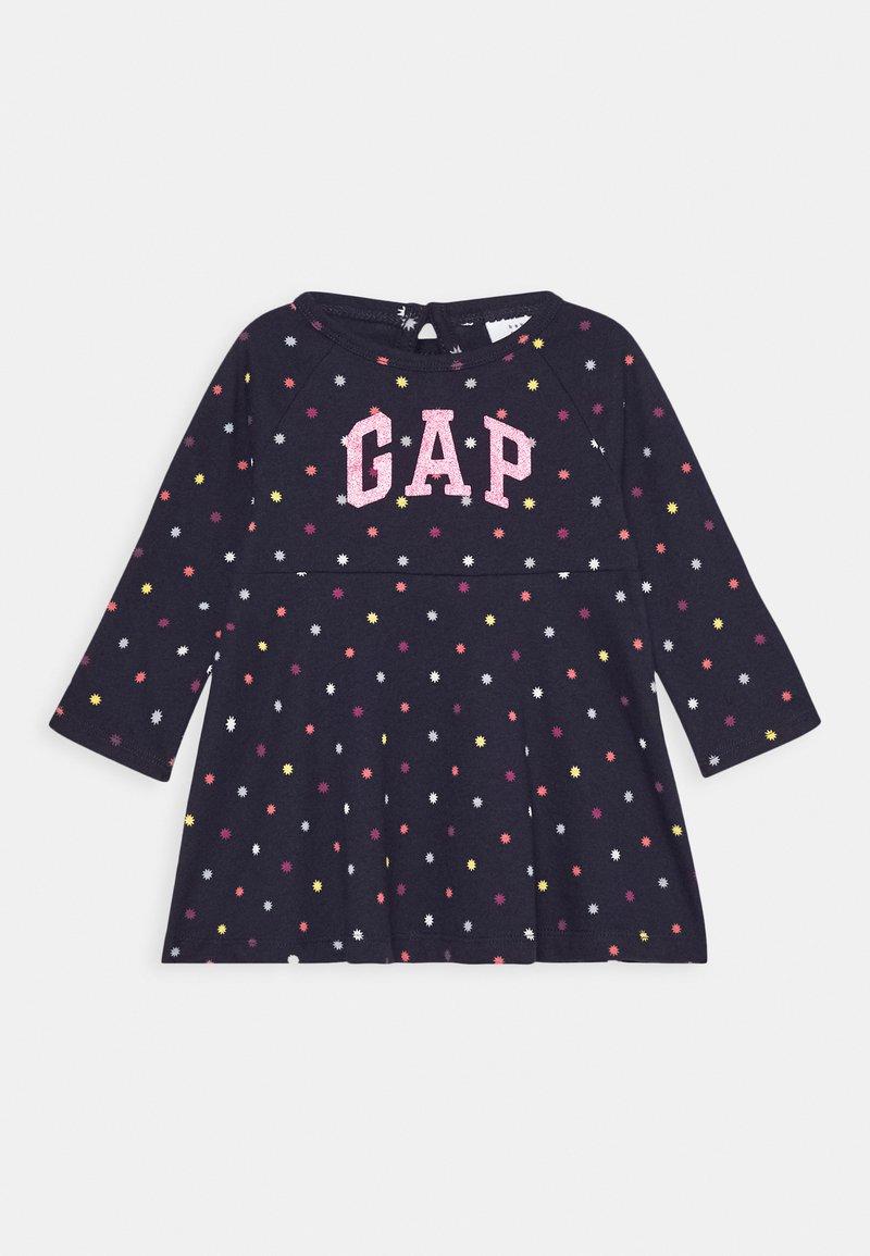 GAP - TODDLER GIRL SKATER DRESS - Žerzejové šaty - dark blue