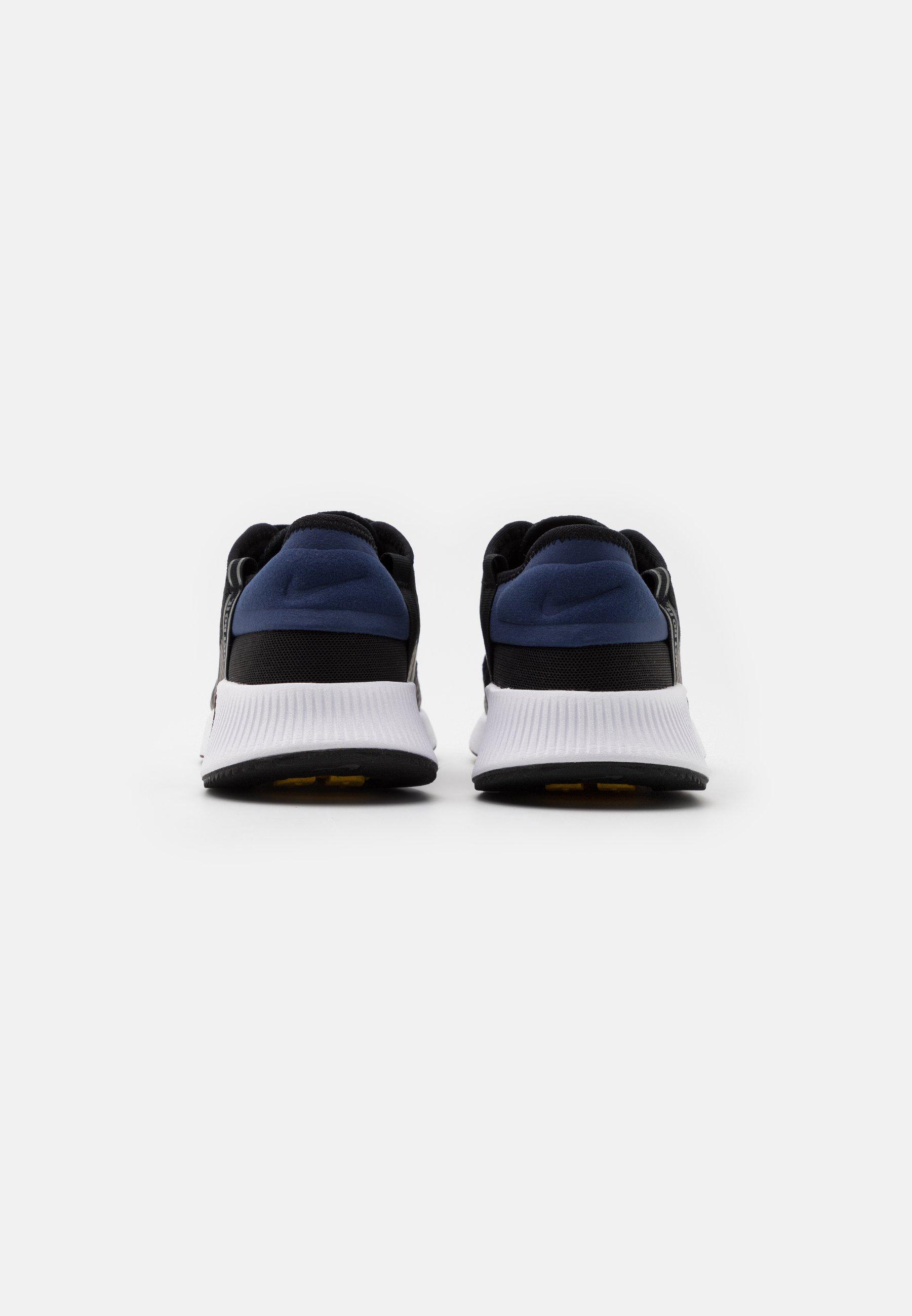 Nike Sportswear REPOSTO - Sneaker low - black/iron grey/blue void/mystic dates/laser orange/white/schwarz - Herrenschuhe UbF4p
