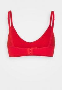 ELLE - SEAMFREE BRALETTE - Triangle bra - red - 1