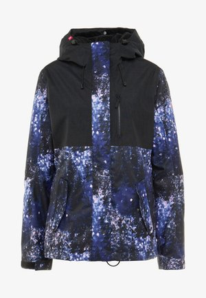 JETTY 2-IN-1 - Snowboard jacket - medieval blue sparkles