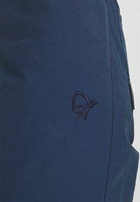 Norrøna - SVALBARD LIGHT SHORTS - Sports shorts - indigo night - 4