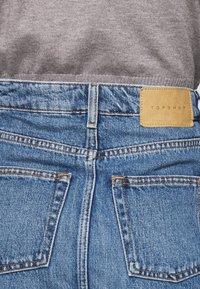 Topshop - Denimová sukně - blue denim - 4