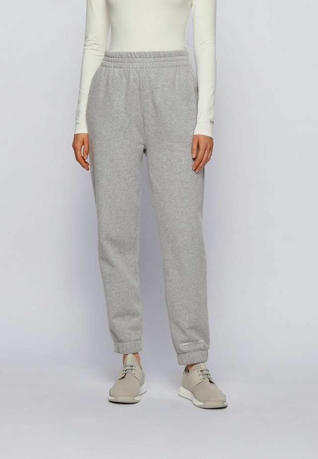 Tracksuit bottoms - silver