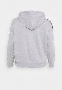 Missguided Plus - SLOGAN LOUNGE HOODIE - Sweatshirt - grey marl - 1
