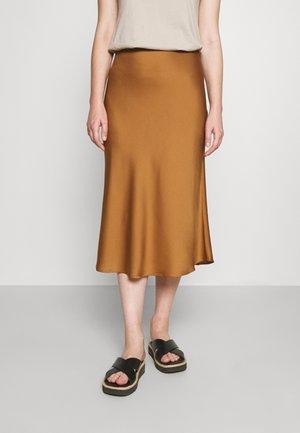 SKIRT - Pouzdrová sukně - wood
