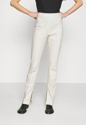 KYLA - Trousers - vanilla sherbet