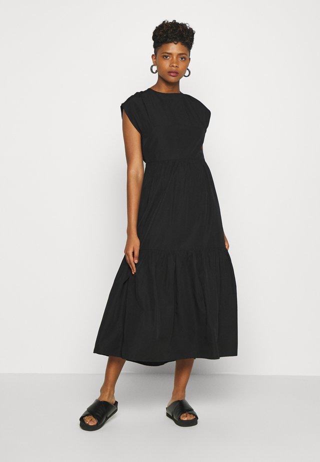 ESTHER DRESS - Denní šaty - black