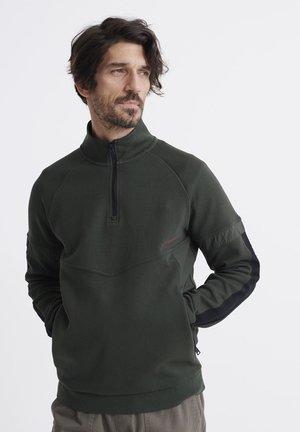 HALF ZIP - Sweatshirt - surplus goods olive