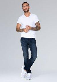 Camp David - Straight leg jeans - blue black vintage - 1