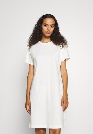 EFFIE DRESS - Jerseyjurk - white chalk