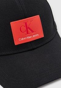 Calvin Klein Jeans - MONOGRAM UNISEX - Cap - black - 3