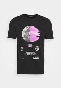 CLOSURE London - ECLIPSE TEE - T-shirt med print - black - 3