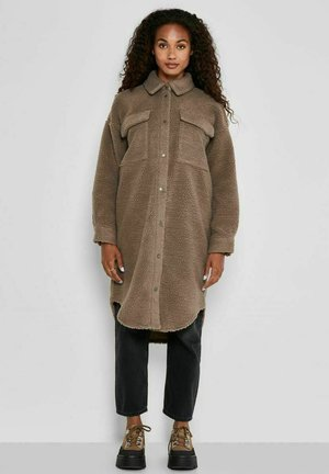 TEDDY- - Classic coat - taupe gray